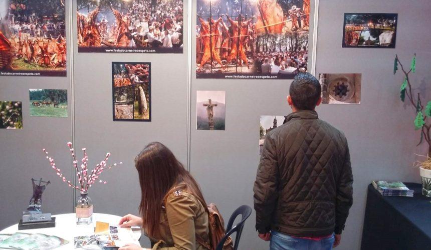 Moraña comeza a promoción da 50ª Festa do Carneiro ao Espeto en Festur no marco da Semana Verde de Galicia